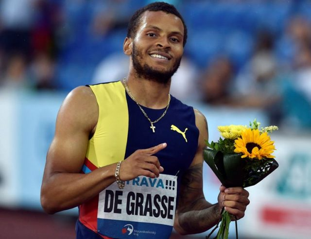 Andre De Grasse Height, Weight, Body Measurements, Parents, Net Worth