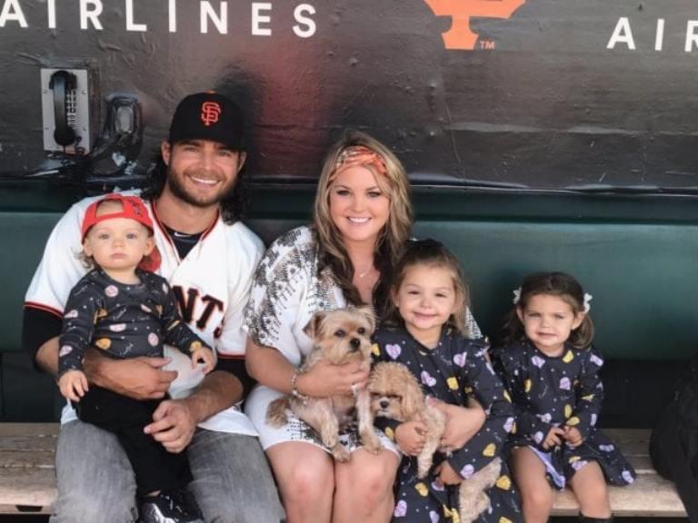 Brandon Crawford – Bio, Wife (Jalynne Dantzscher), Sister, Kids, Family