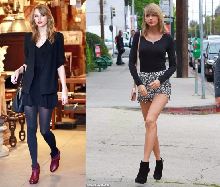 See Taylor Swift's Feet, Shoe Size and Shoe Collection